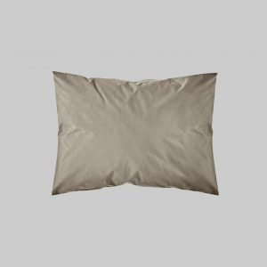SHAM PAIR QUEEN SOLID COLOR TAUPE