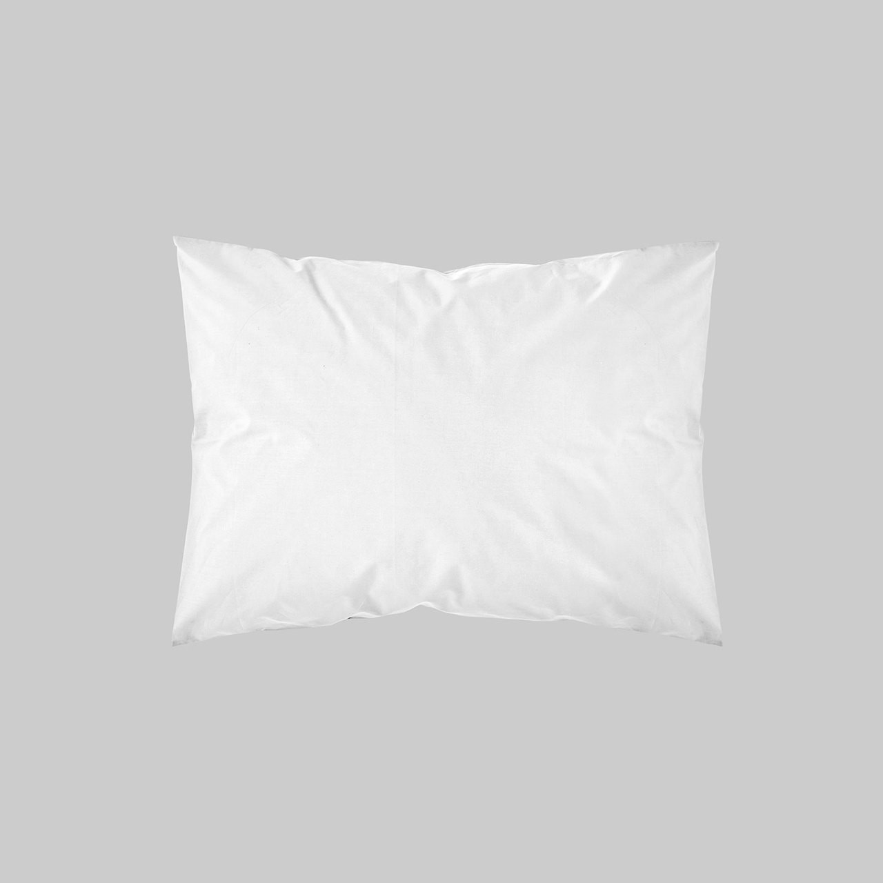 SHAM PAIR QUEEN SOLID COLOR WHITE