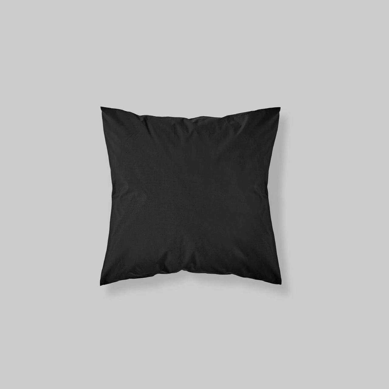 EURO SHAM PAIR SOLID COLOR BLACK