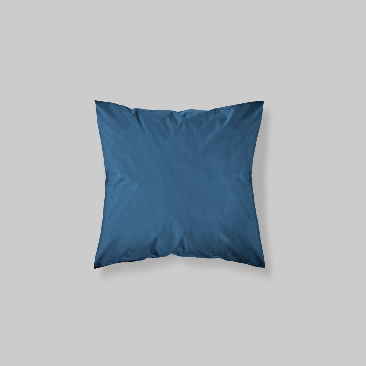 Euro Sham Pair Solid Color Navy Blue Tfg Tessitura