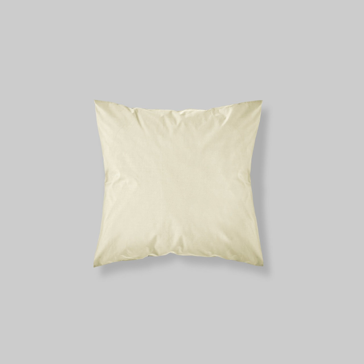 EURO SHAM PAIR SOLID COLOR IVORY