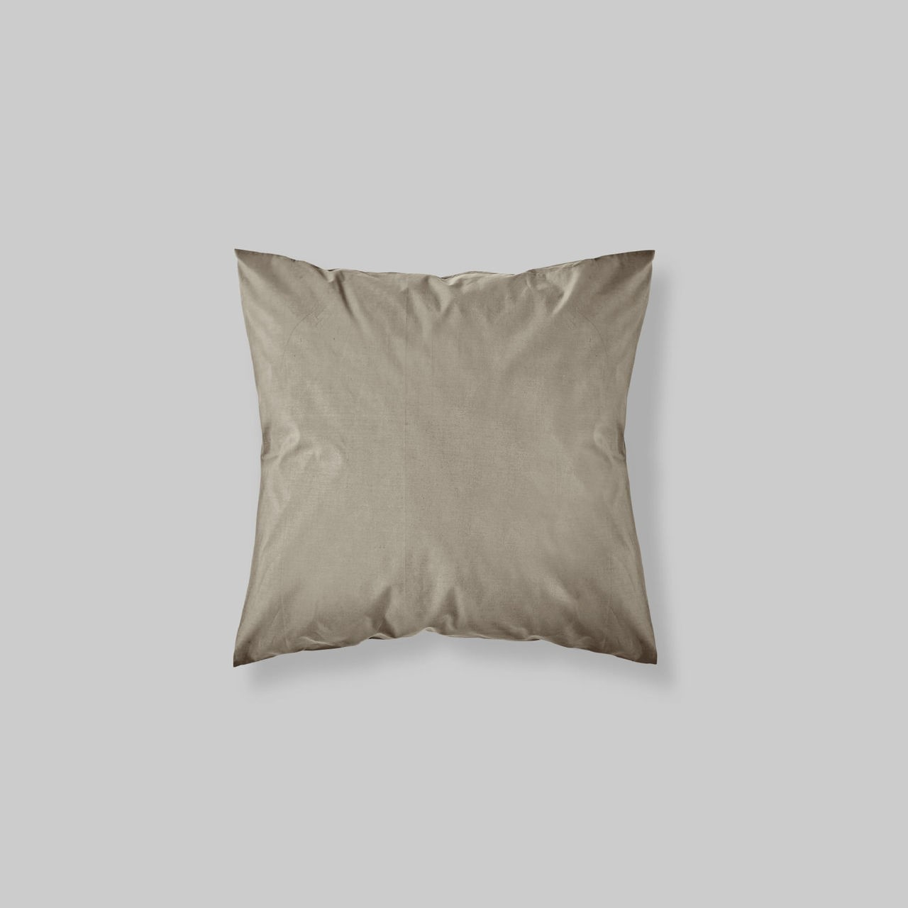 EURO SHAM PAIR SOLID COLOR TAUPE