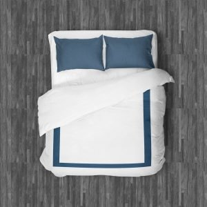 BELLAGIO DUVET QUEEN NAVY BLUE