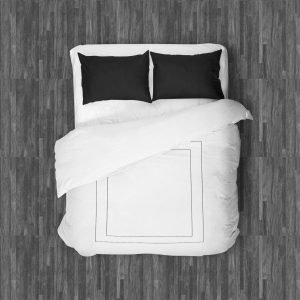MILANO DUVET QUEEN BLACK