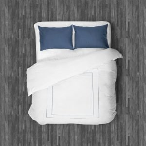 MILANO DUVET QUEEN NAVY BLUE