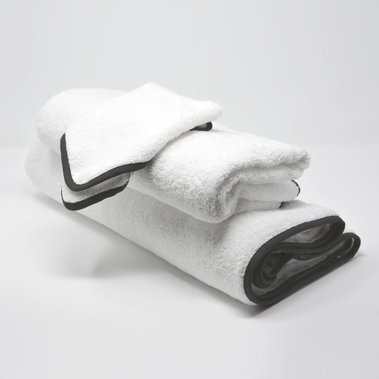 BATH TOWELS SET DAVY'S GRAY