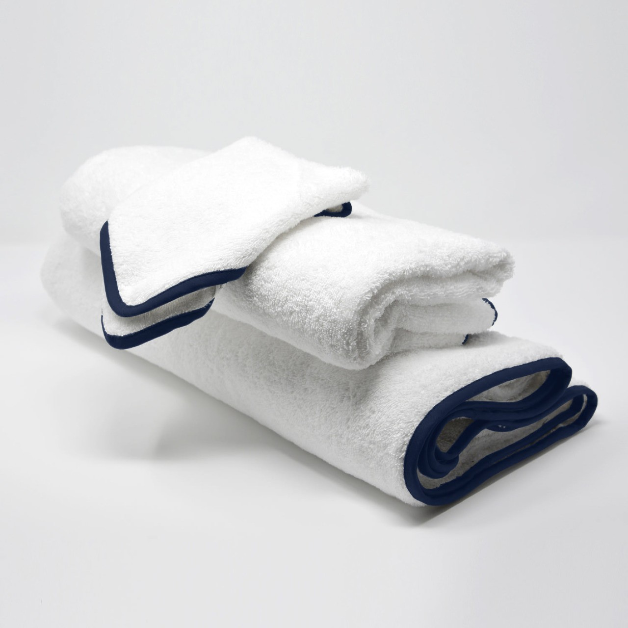 BATH TOWELS SET NAVY'S BLUE