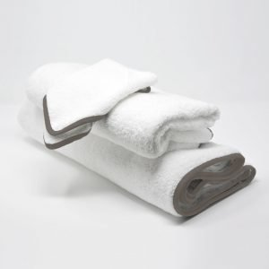 BATH TOWELS SET TAUPE
